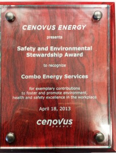 Cenovus Safety Award